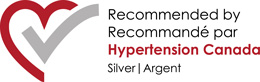 Recommended by Hypertension Canada