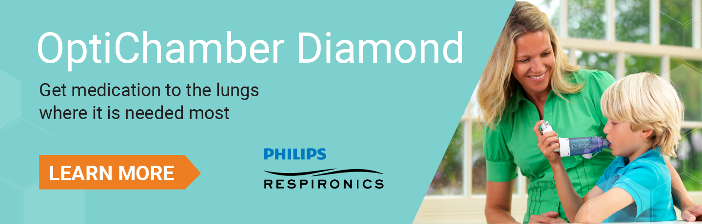 OptiChamber Diamond by Philips Respironics